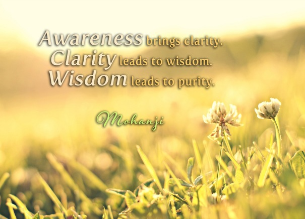 mohanji-quotes-awareness-brings-clarity